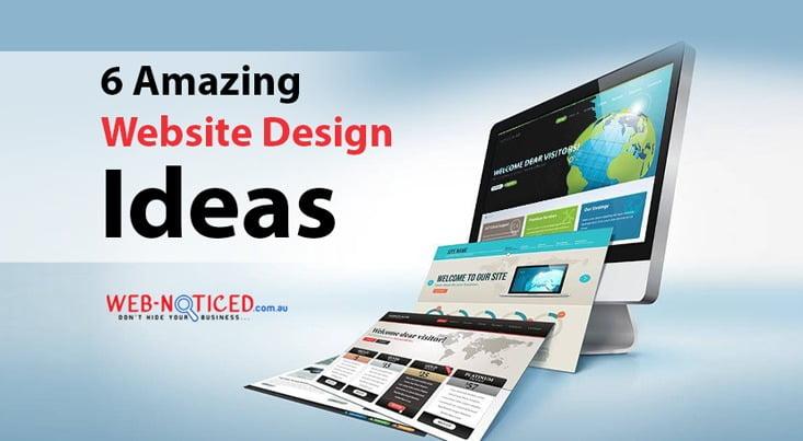 7 Amazing Website Design Ideas
